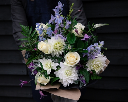 Baby Boy Hand-Tied Bouquet