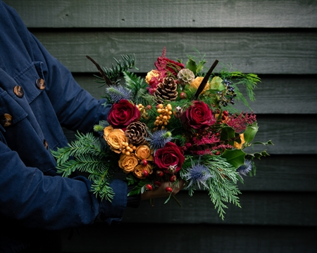 Christmas Hand-Tied bouquet