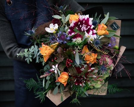 Autumn Hand-Tied Seasonal bouquet